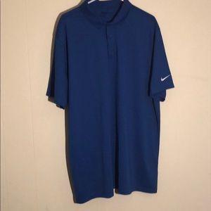 Nike Golf Dri-fit men's XXL polo blue